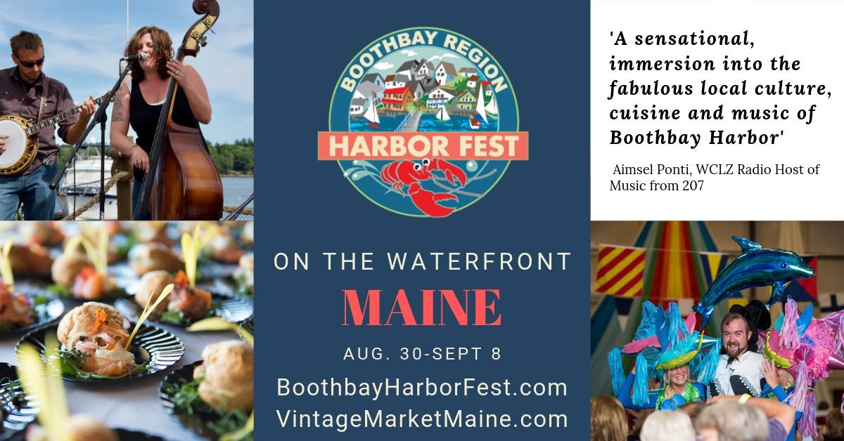 Waterfront Festival in Boothbay Harbor, Maine voted Best New England Events
