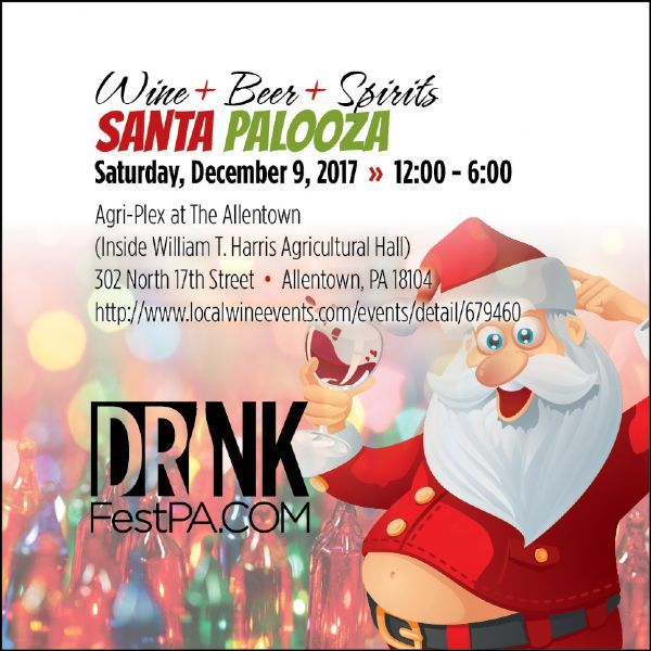 Wine Beer Spirits SantaPalooza