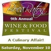 9th Annual Boca Raton Wine & Food Festival, A Culinary Affair!