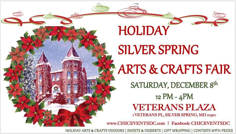Silver Spring Arts & Crafts Holiday Fair and Christmas Market