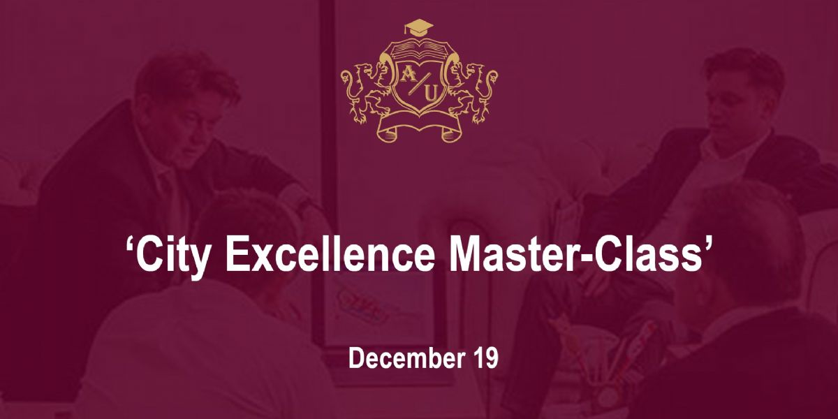 'City Excellence Master-Class'