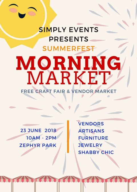 SummerFest Morning Market