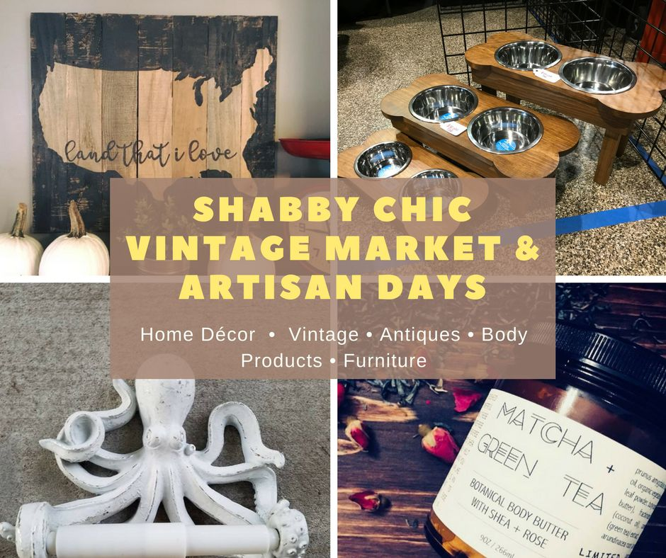 Holiday Shabby Chic Vintage Market & Artisan Day