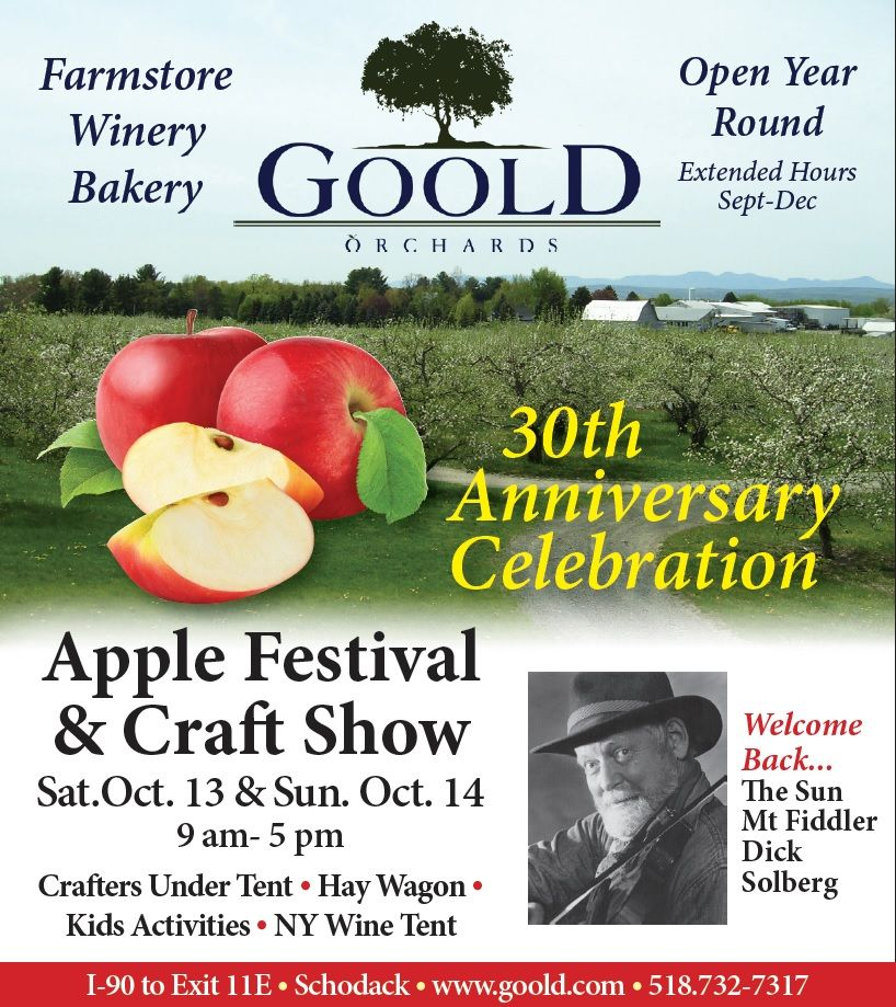 30th Annual Goold Orchards Apple Festival & Craft Show