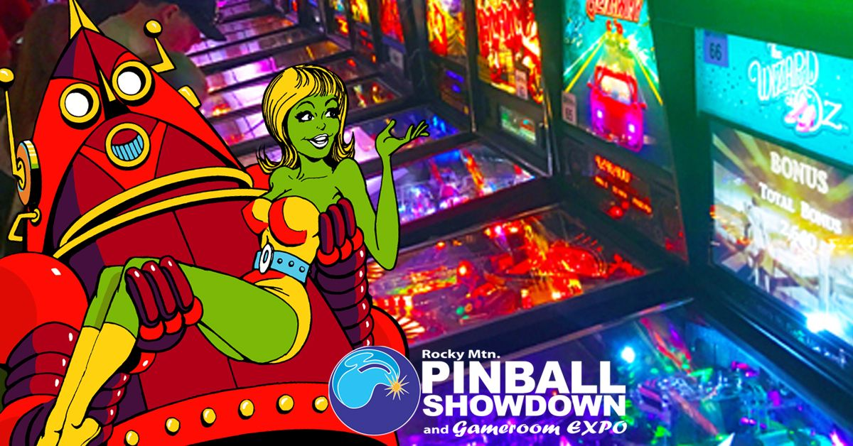 Rocky Mtn Pinball Showdown and Gameroom Expo
