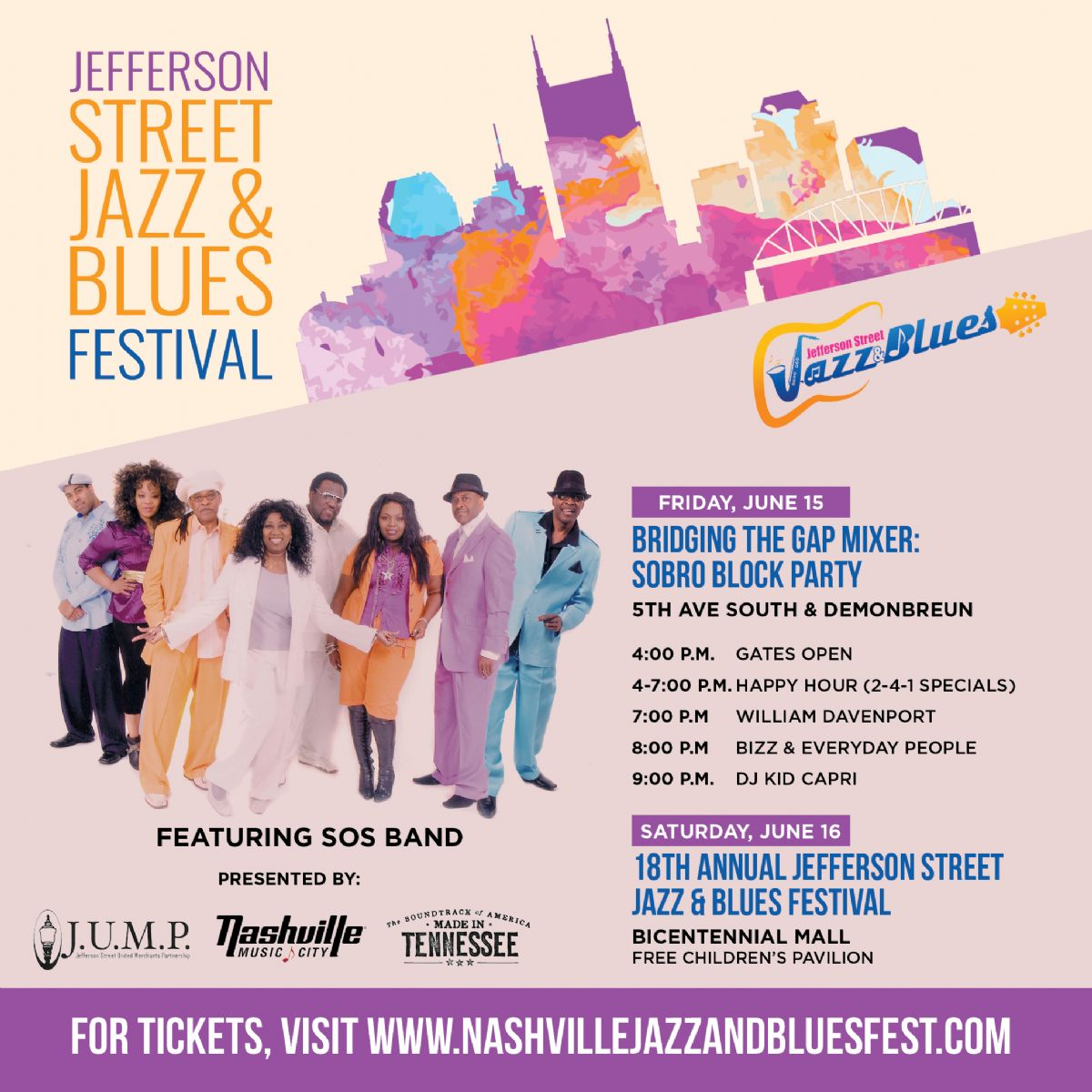 2-Day Jefferson Street Jazz & Blues Festival