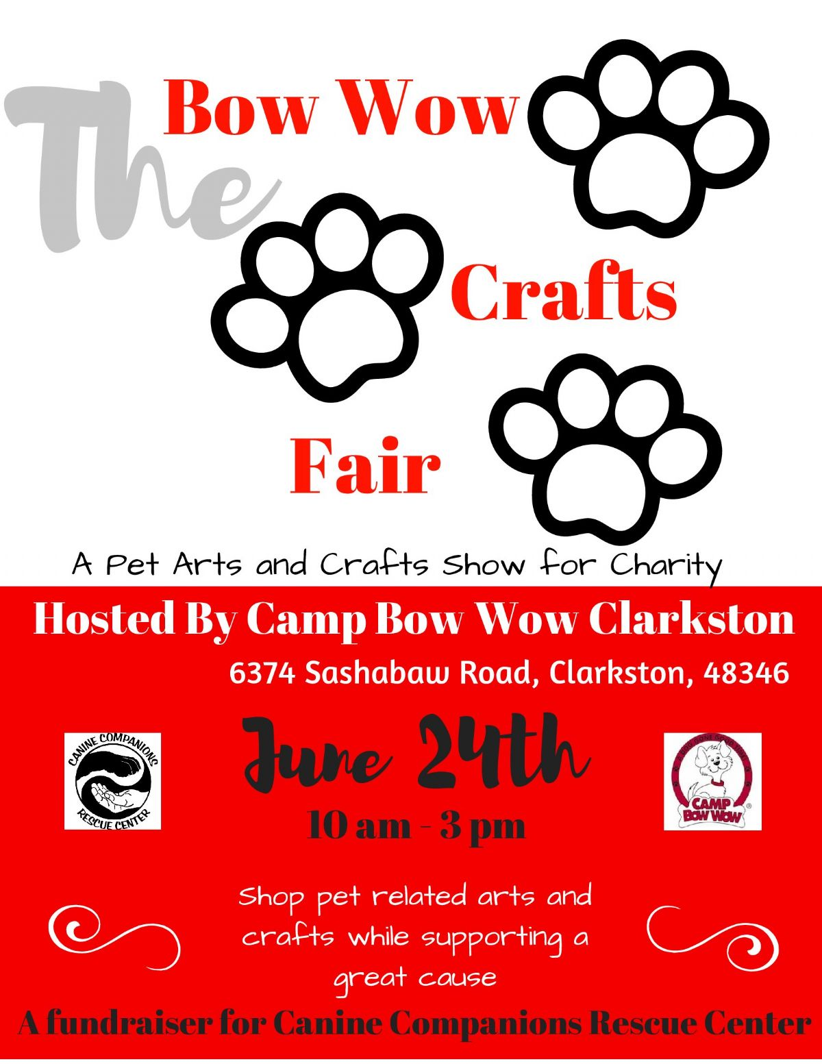 The Bow Wow Crafts Fair