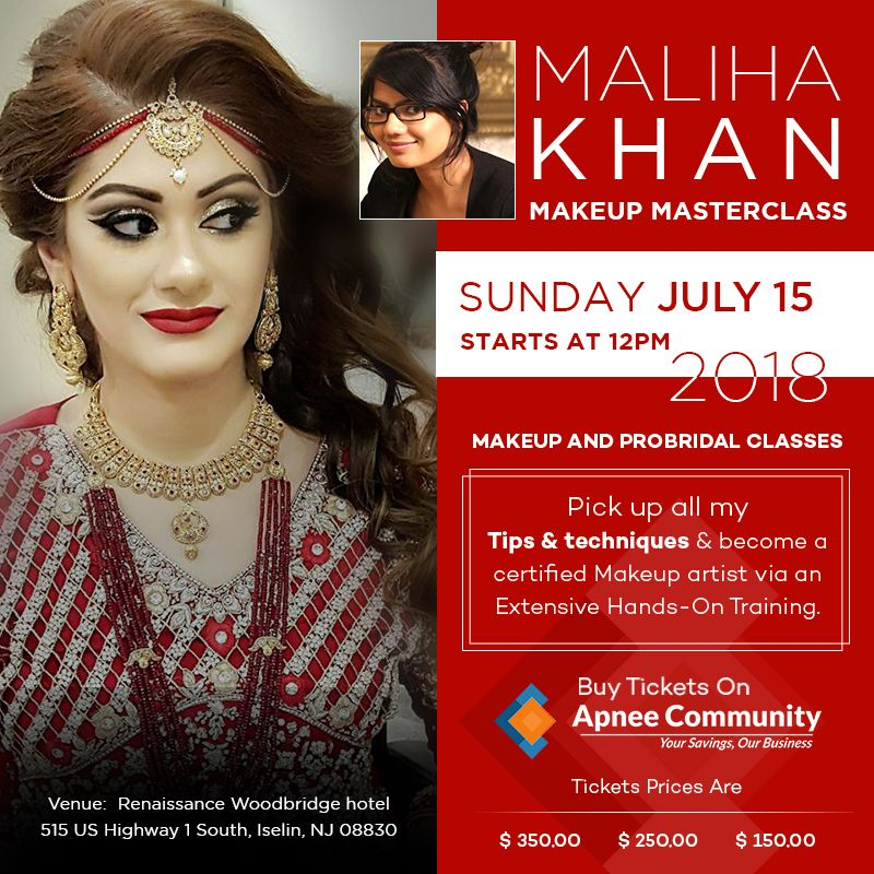 Makeup MasterClass by Maliha Khan in Iselin, New Jersey