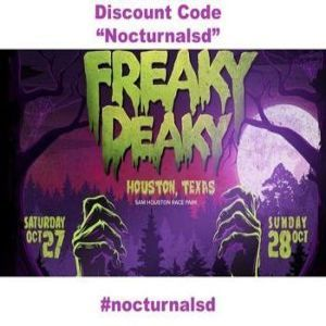 Freaky Deaky Promo Code 2018 Houston Texas Halloween