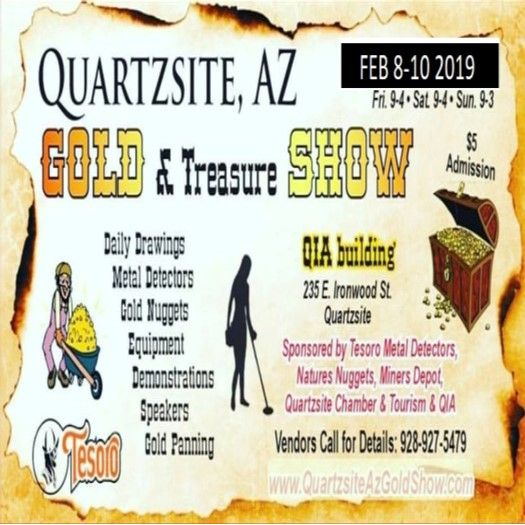 Quartzsite Gold Treasure & Craft Show