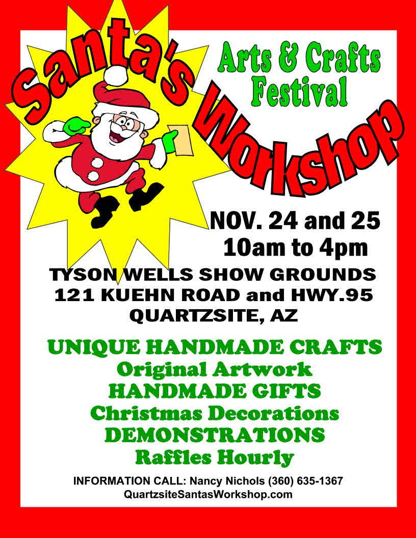 Santa's Workshop Art & Craft Show