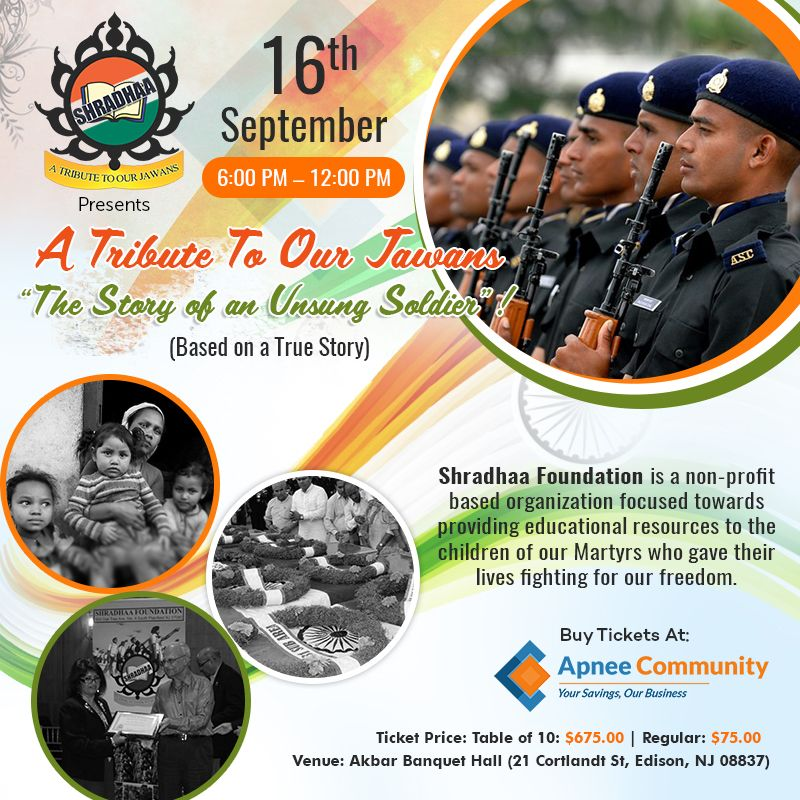 "A Tribute To Our Jawans – Brings to Life ""The Story of an Unsung Soldier""!"