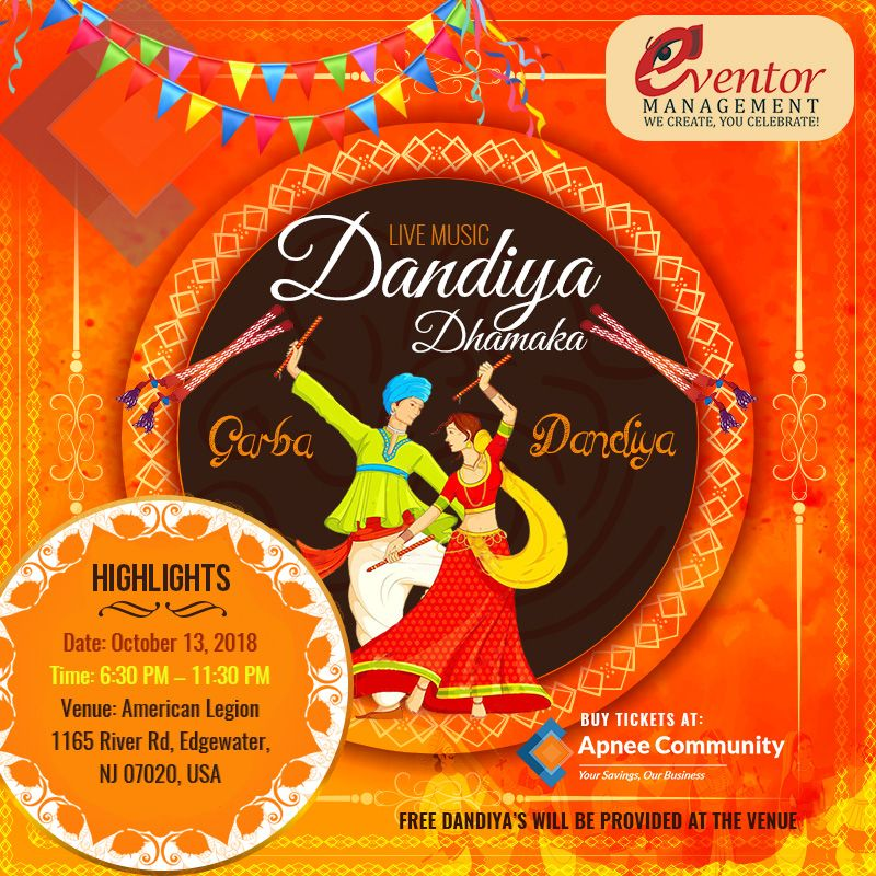 Dandiya Dhamaka 2018 in New Jersey