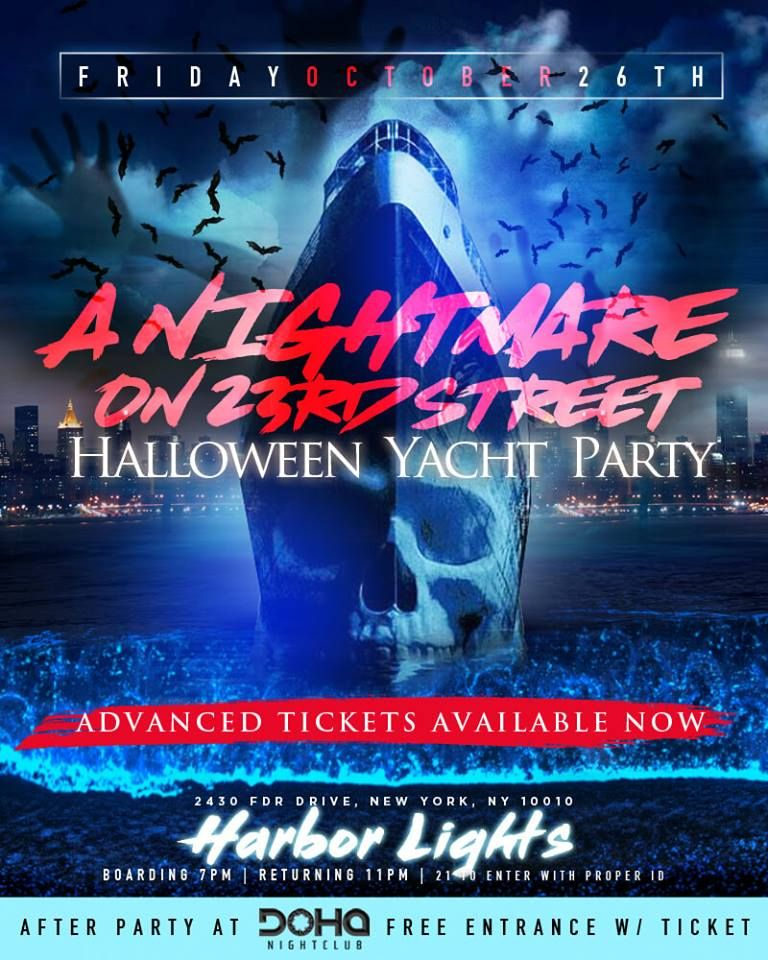 Halloween Haunted Cruise