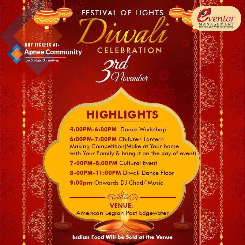 Festival of Lights – Diwali Celebrations 2018