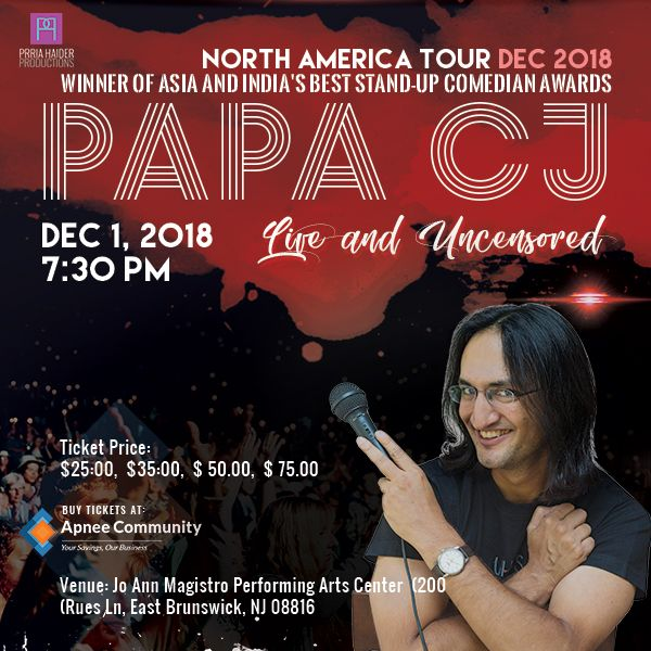 PAPA CJ: Live and Uncensored – New Jersey