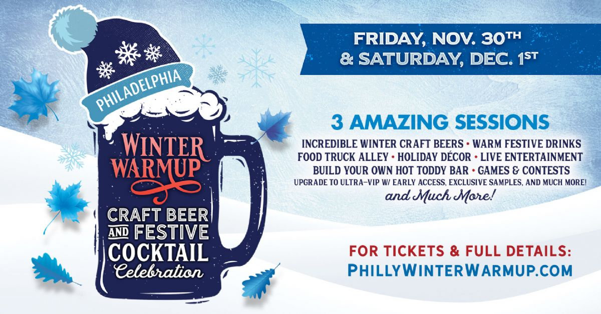 'Winter Warmup' Craft Beer & Festive Cocktail Celebration