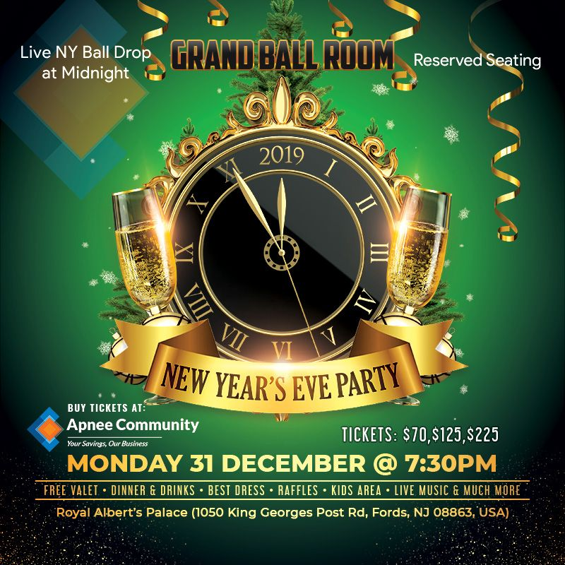 New Year's Eve Party – Grand Ball Room