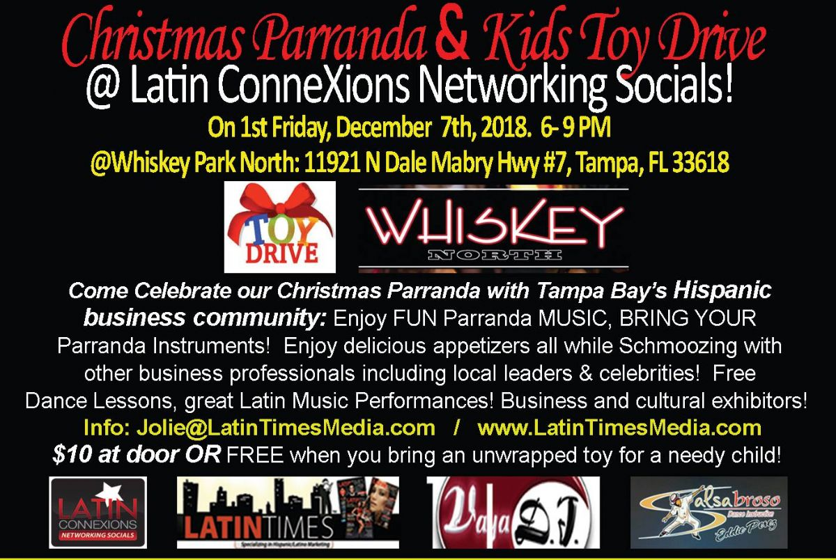 Latin Connexion's Christmas Parranda & Kids Toy Drive