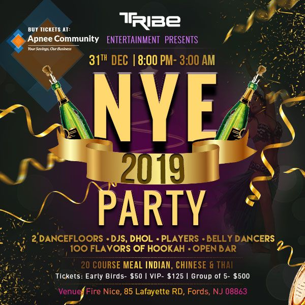 Tribe Entertainment – NYE Party 2019