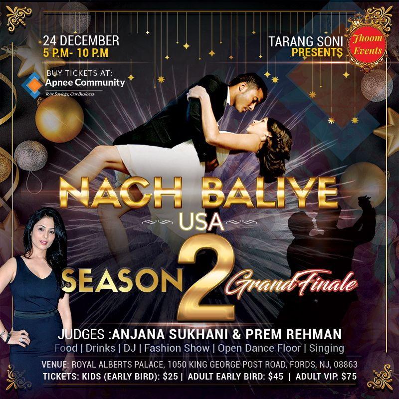Nach Baliye USA Season 2 and America's Dancing Superstar Grand Finale