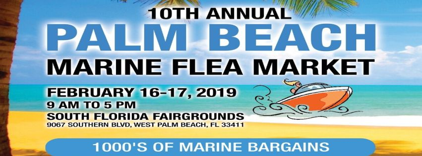 10th Annual Palm Beach Marine Flea Market