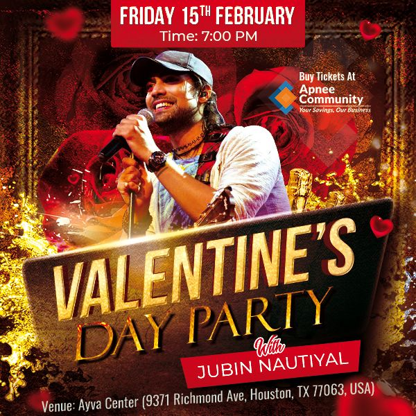 Valentine Day Party with Jubin Nautiyal