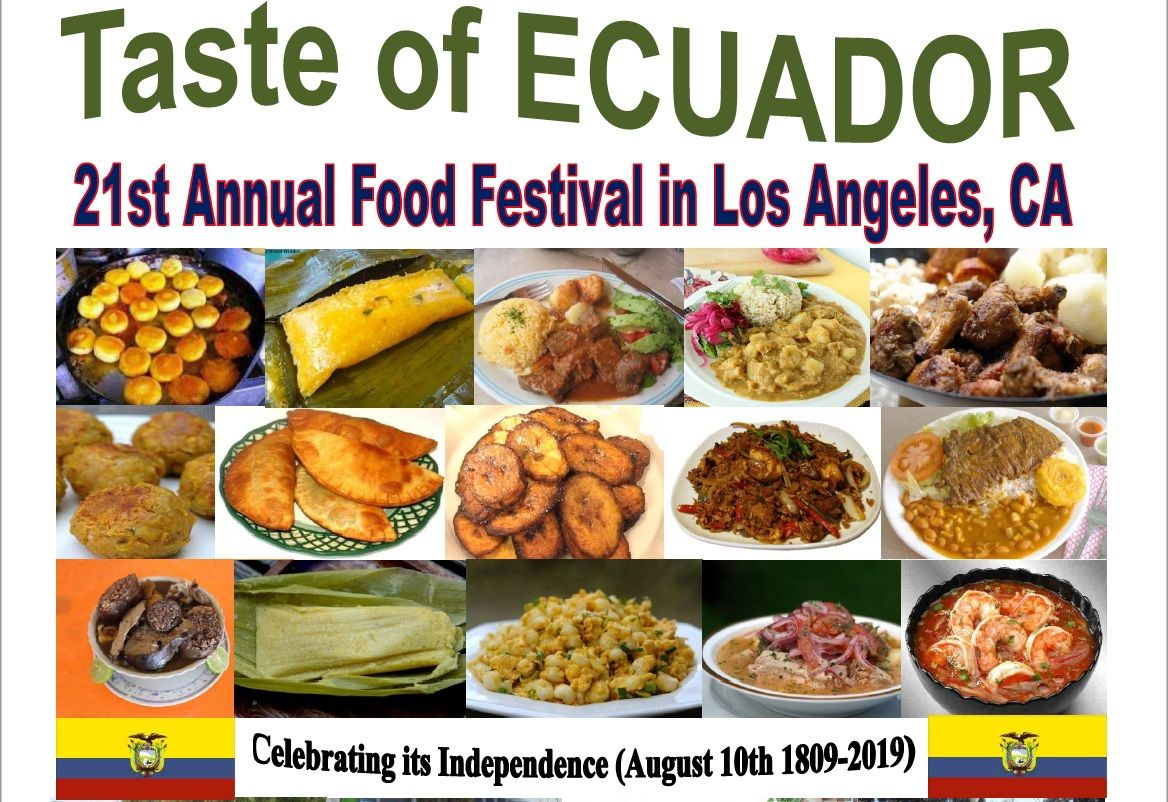 21st Annual TASTE OF ECUADOR Food Festival & Parade