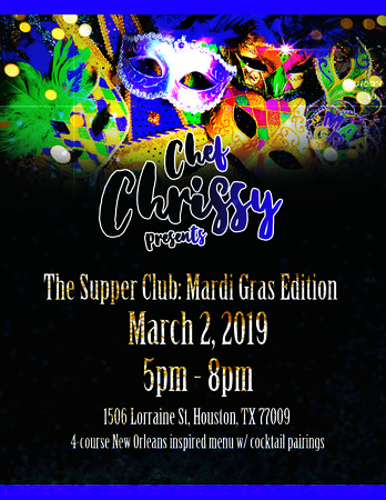 The Supper Club: Mardi Gras Esition