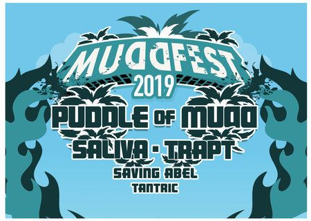 Mudd Fest 2019 - Puddle of Mudd, Saliva, Trapt, Saving Abel and Tantric
