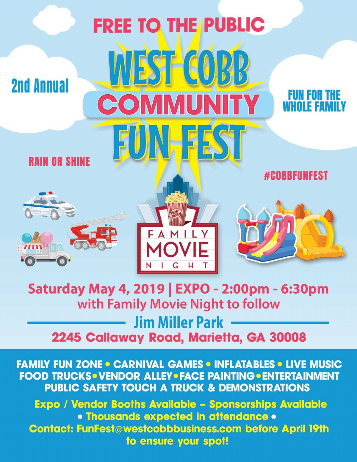 Second Annual West Cobb Community Festival