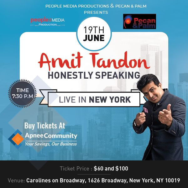 Amit Tandon Stand-Up Comedy: Live in Carolines on Broadway