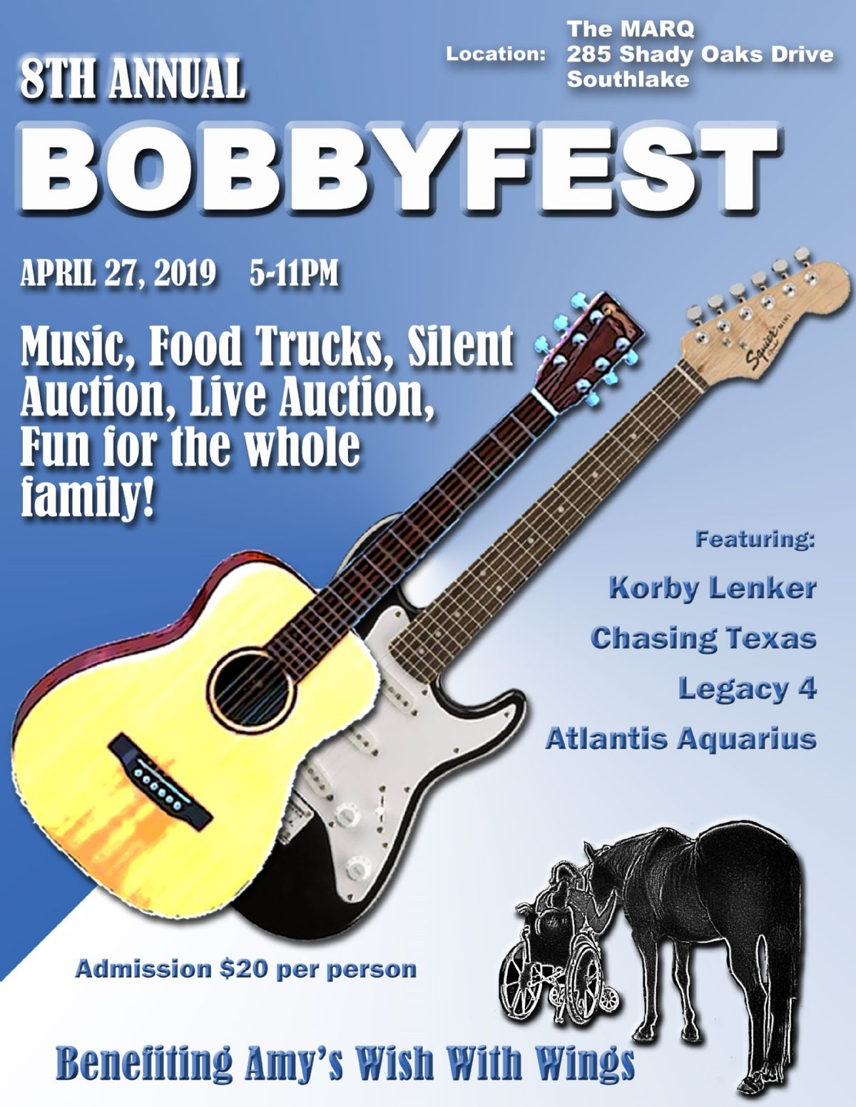 8th Annual Bobbyfest Charity Music Festival