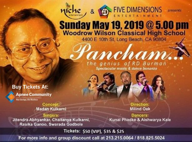 Pancham – The genius of R D Burman in Los Angeles