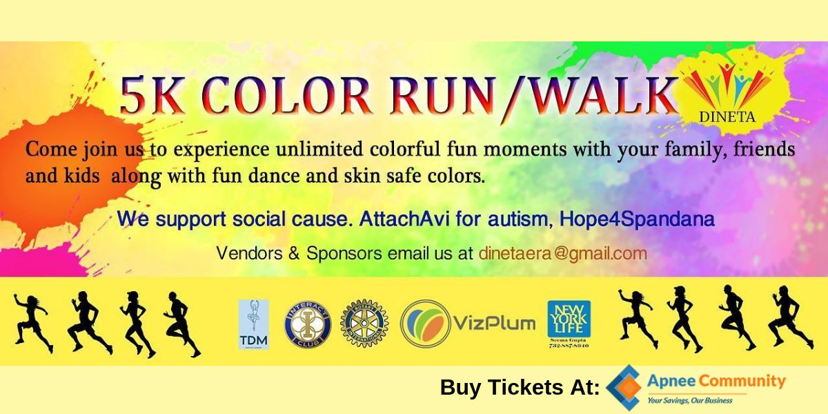 5K Color Run/Walk