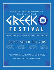 42nd Annual St. Demetrios Greek Festival