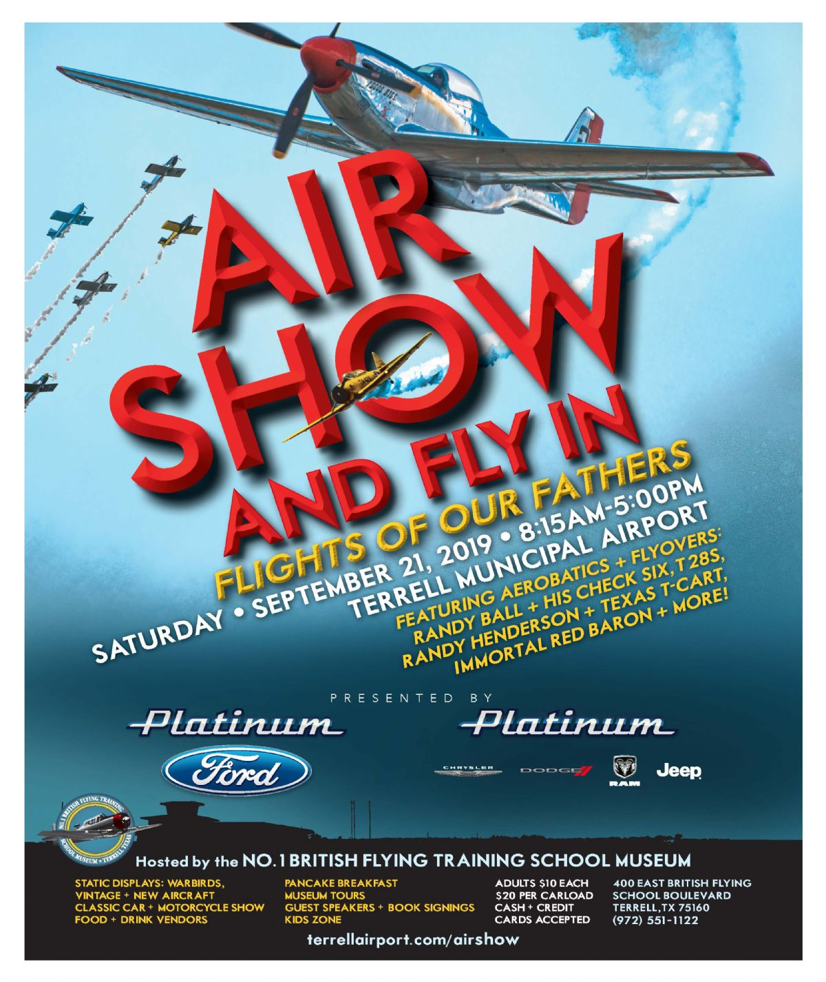 Flights of Our Fathers Air Show & Fly-In