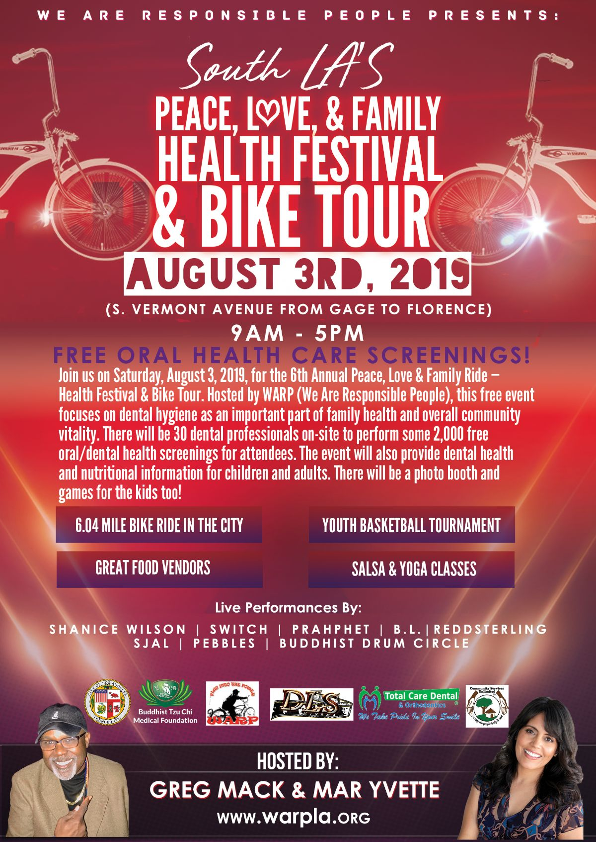 Peace Love Family Ride and Health Festival