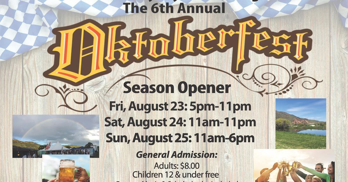 6th Annual Oktoberfest Season Opener
