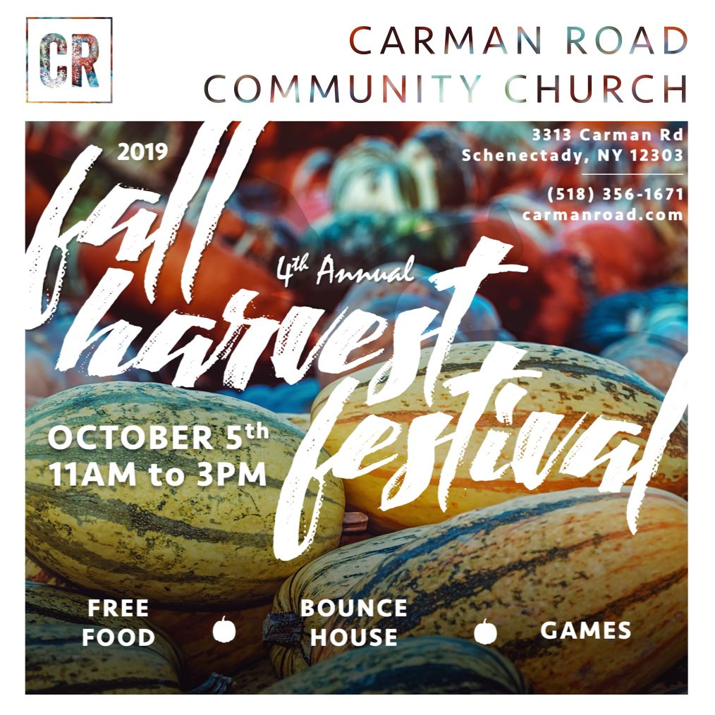 Carman Road 4th Annual Fall Festival