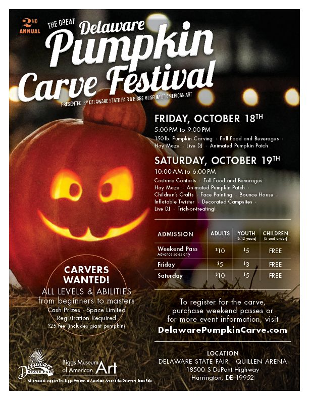 The Great Delaware Pumpkin Carve Festival