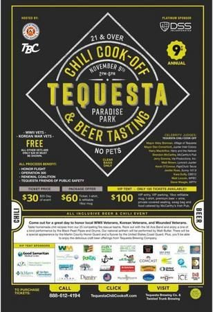 9th Annual Chili Cook-Off and Beer Tasting Event