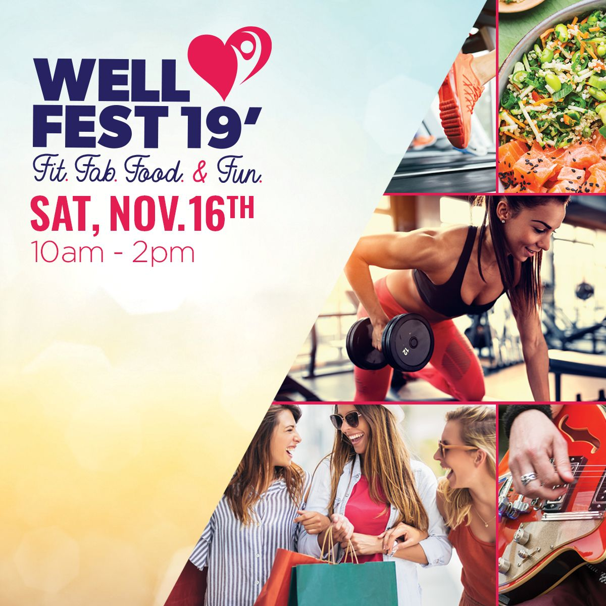 WellFest '19 at the Shops at University Park