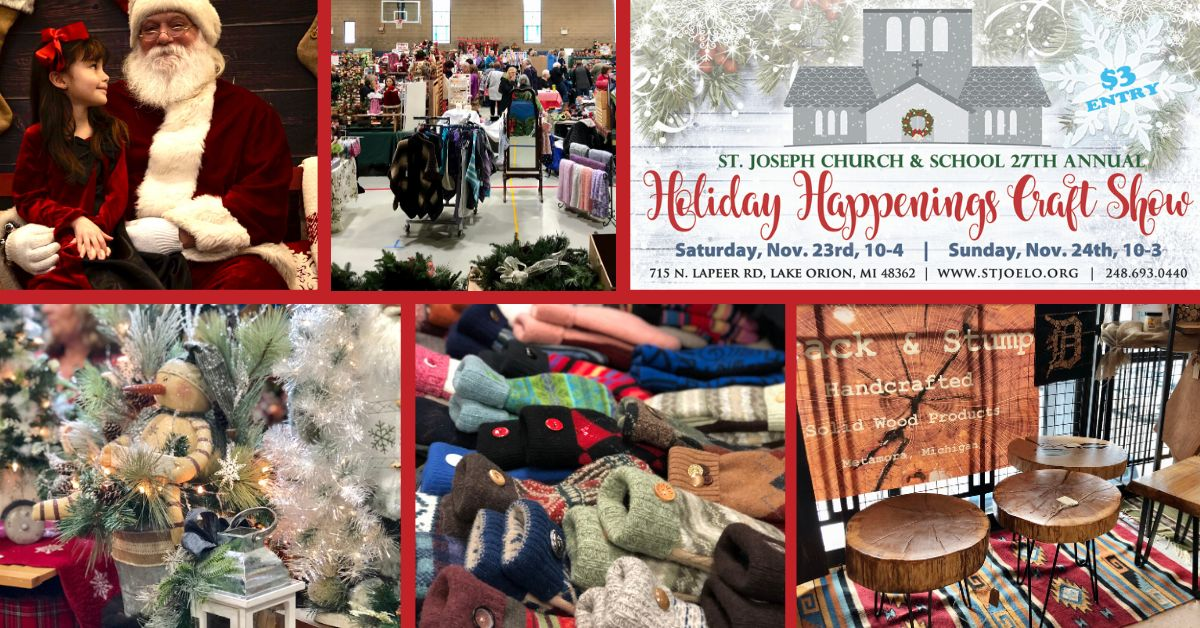St. Joseph School Holiday Happenings Craft Show