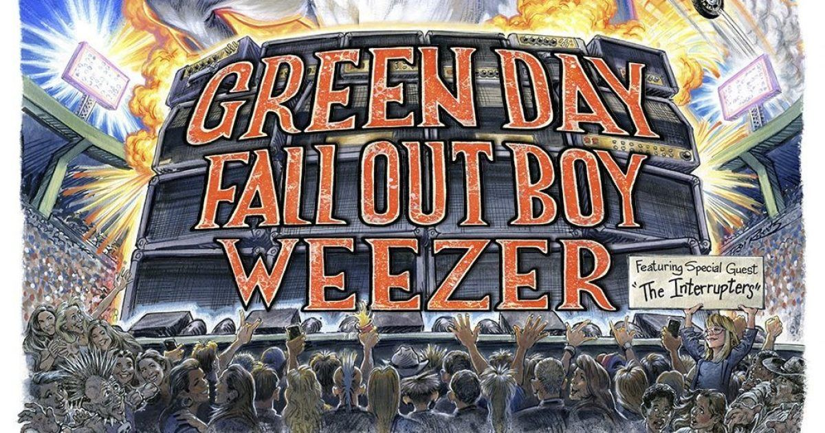 Hella Mega Tour: Green Day, Fall Out Boy, Weezer & The Interrupters
