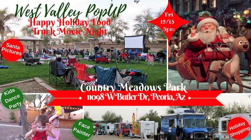 A Happy Holiday Food Truck MOVIE NIGHT & MORE! Fri 12/13