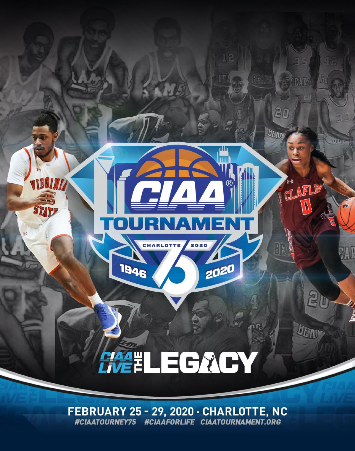 75th Anniversary CIAA Championship Basketball Tournament – A Sports And Cultural Experience