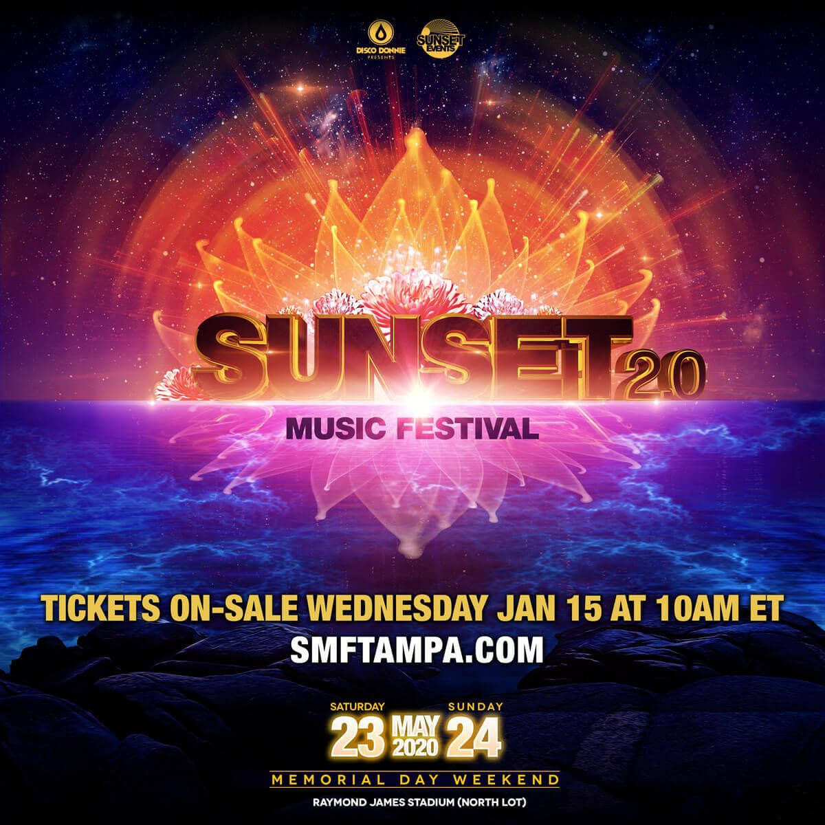 Sunset Music Festival Promo Code