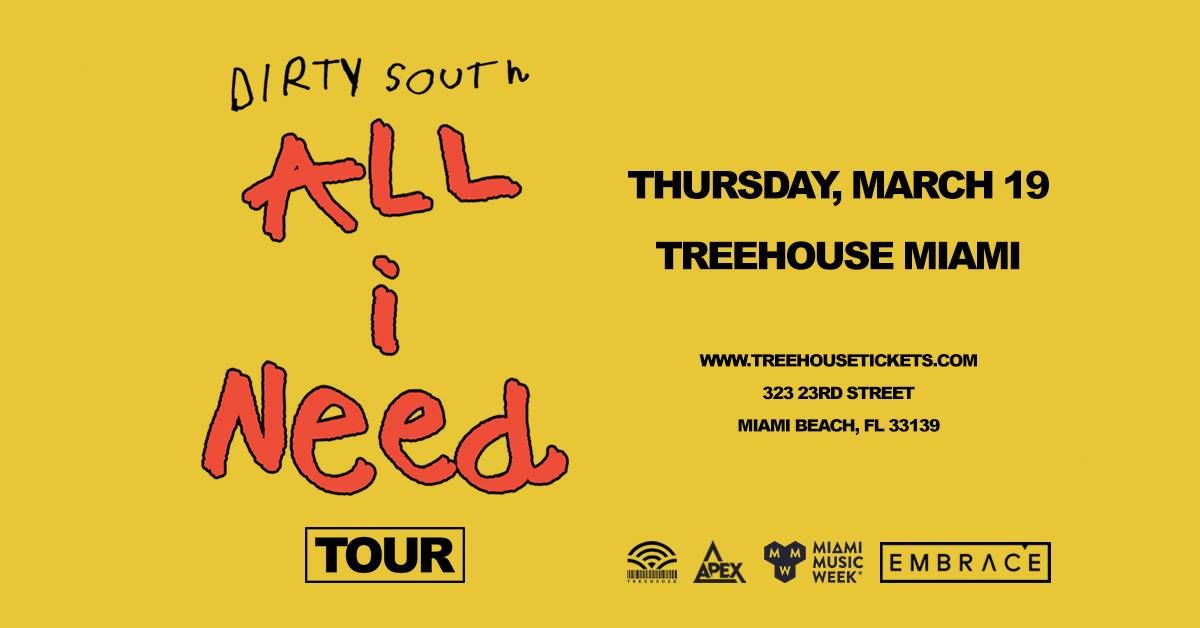 Treehouse Dirty South Miami Promo Code