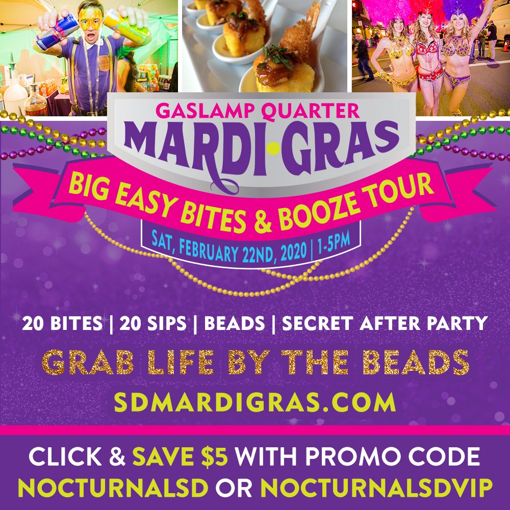 Mardi Gras Beads, Bites and Booze Tour Promo Code